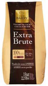 Extra Brute - Cacau em pó 100% Cacao Barry 1kg