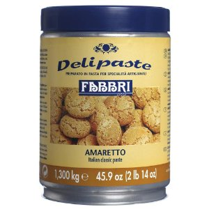 Pasta saborizante de amareto Fabbri 1,3kg