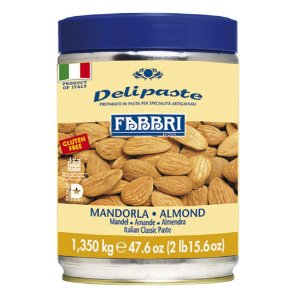 Pasta saborizante de amêndoa Fabbri 1,35kg