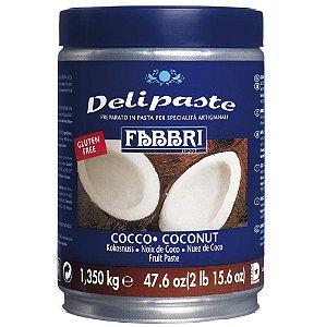 Pasta saborizante de coco Fabbri 1,35kg