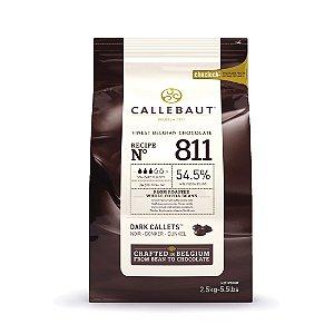 811 Chocolate Amargo 54,5% - Gotas 2,5kg