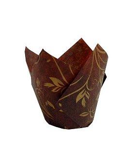 Tulipa Marrom E Dourada Ecopack 200 Unidades