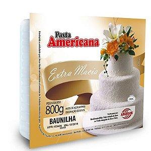 Pasta Americana - sabor baunilha - 800g