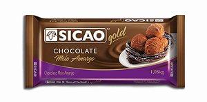 Chocolate Barra Meio amargo sicao