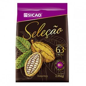 Seleção - Chocolate Meio amargo 63% Sicao 2,05kg