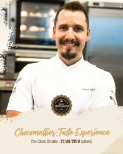Curso Presencial: Chocomellier - Taste Experience com Cássio Cevallos - 21.09.2019 (Sábado)