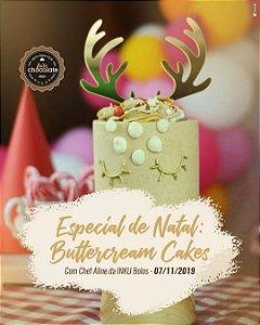 Curso Presencial: Especial de Natal: Buttercream cakes com a Chef Aline da INKU Bolos 07.11.2019 (quinta)