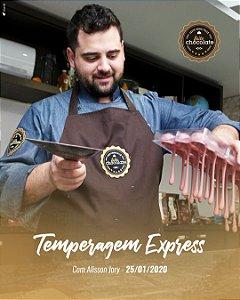 Curso Presencial - Temperagem Express com Alisson Jory 25.01.2020 (sábado)