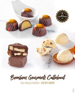 Curso Presencial - Bombons Gourmets Callebaut com Glaucia Scheffel - 23.01.2020 (quinta)