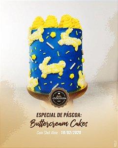 Curso Presencial - Especial de Páscoa: Buttercream cakes com a Chef Aline da INKU Bolos 18.02.2020 (terça)