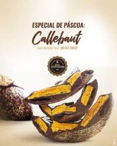 Curso Presencial: Especial de Páscoa Callebaut com Michelle Flosi - 20.02.2020 (quinta)