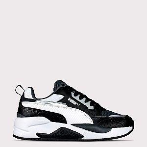 Tênis Puma XRay 2 Square BDP - Black Dark/Shadow White
