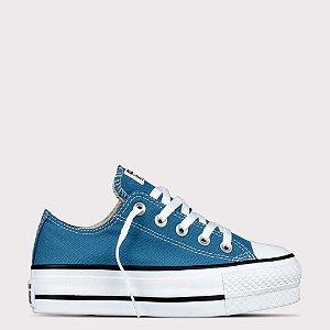 Tênis Converse All Star Chuck Taylor Ox Lift - Azul Escuro