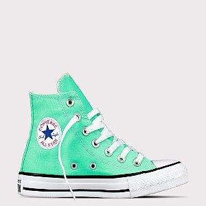 Tênis Converse All Star Chuck Taylor Hi - Verde Brilhante