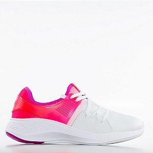 Tênis Actvitta Columbia Napa Duna Neo Pvc - Branco/Pink Neon