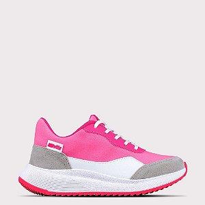 Tênis Actvitta Velur/NP Duna Neo/Camurcao - Pink Neon