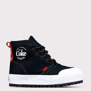 Tênis Coca-Cola Denver - Preto