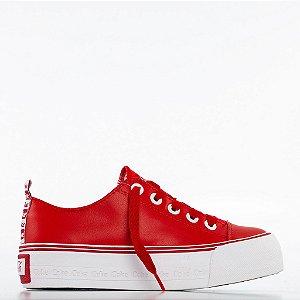 Tênis Coca-Cola Rambla - Vermelho/Branco