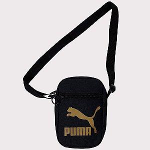 Bag Puma Originals Compact Portable - Black/Gold OSFA