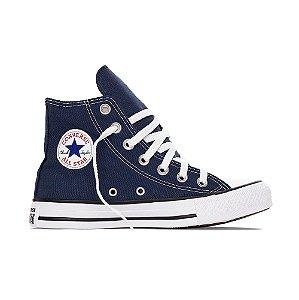 Tênis Converse All Star Cano Alto Chuck Taylor Tecido - Azul Marinho
