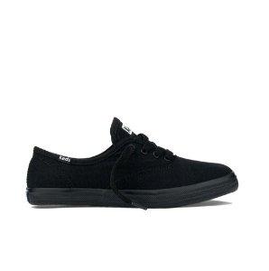 Tênis Keds Feminino Champion Woman Canvas - Preto