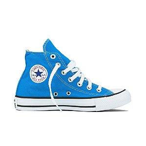 Tênis Converse All Star Cano Alto Chuck Taylor - Azul Celeste