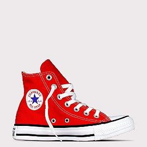 Tênis Converse All Star Chuck Taylor Hi - Vermelho