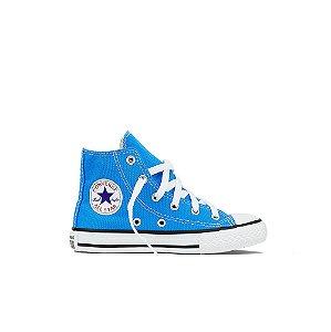 Tênis Converse Kids All Star Cano Alto Chuck Taylor - Azul Celeste