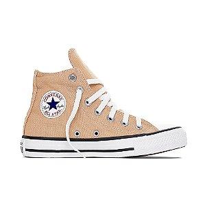 Tênis Converse All Star Cano Alto Chuck Taylor - Creme