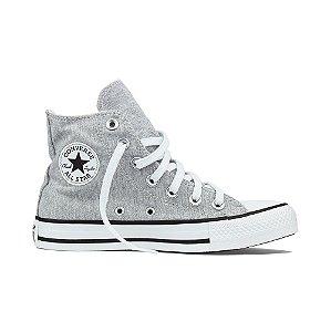 Tênis Converse All Star Cano Alto Chuck Taylor - Aço