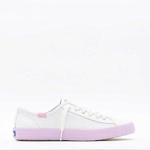 Tênis Keds Kickstart Colors - Branco/Lilás