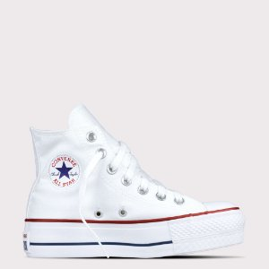Tênis Converse All Star Chuck Taylor Lift Hi - Branco