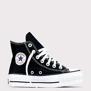 Tênis Converse All Star Chuck Taylor Lift Hi - Preto