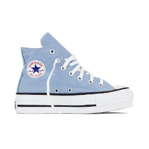 Tênis Converse All Star Chuck Taylor Hi Lift - Azul Aço