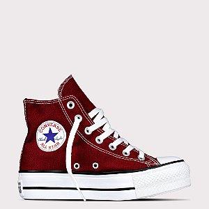 Tênis Converse All Star Chuck Taylor Lift Hi - Bordo