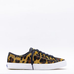 Tênis Keds Kickstart Animal Print - Tan