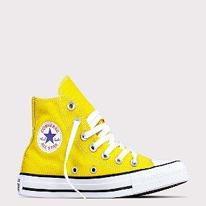 Tênis Converse All Star Chuck Taylor Hi - Amarelo Vivo