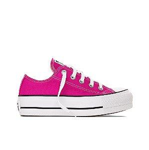 Tênis Converse All Star Chuck Taylor Platform - Pink Fluor