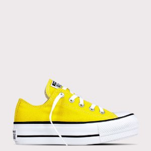 Tênis Converse All Star Chuck Taylor Lift - Amarelo Vivo