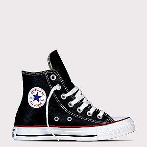 Tênis Converse All Star Chuck Taylor Sintético Hi - Preto