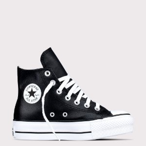 Tênis Converse All Star Chuck Taylor Sintético Lift Hi - Preto