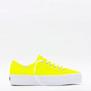 Tênis Keds Triple Kick Neon - Amarelo