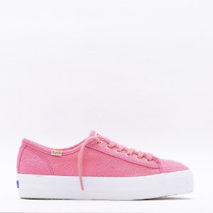 Tênis Keds Triple Kick Cotton Lace - Malva