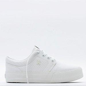 Tênis Mary Jane Plataforma Insta Fresh - White