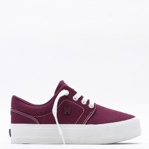Tênis Mary Jane Plataforma Insta Fresh Feminino - Bordo