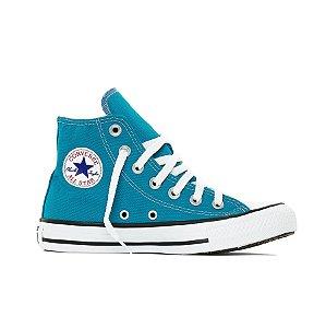 Tênis Converse All Star Chuck Taylor Hi - Azul Acido