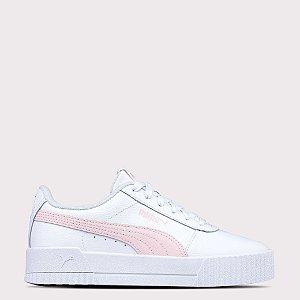 Tênis Puma Carina L - White/Rosewater