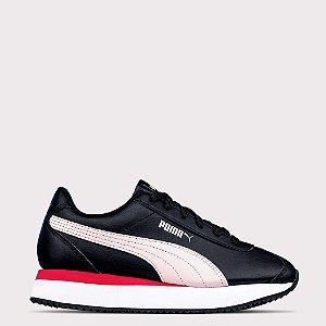 Tênis Puma Turino Stacked - Black/Rosewater