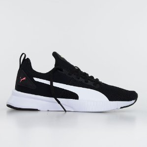 Tênis Puma Flyer Runner - Black/Pink
