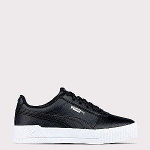 Tênis Puma Carina Leather - Black